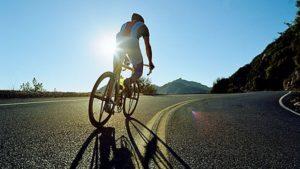 Heart exercises - bike