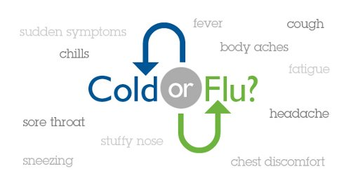 The Difference Between Cold and Flu