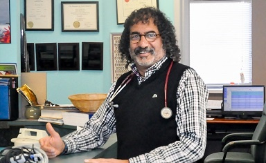 Dr. Sam Henein Interviewed in Local Newspaper for his Work with Alzheimer's Disease